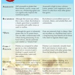 The Gluten Free Grains Guide