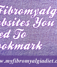 5 Fibromyalgia websites you need to bookmark